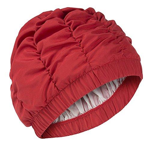 Fashy Bonnet de douche Mesdames Rouge