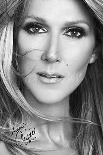 La photo noir et blanc signée Céline Dion