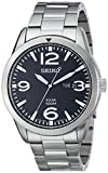 Seiko Men's SNE327 Sport Solar Analog Display Japanese Quartz Silver Watch