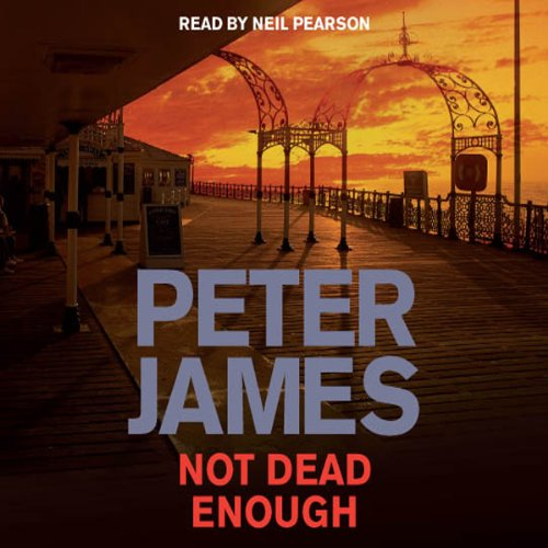 Not Dead Enough audiobook cover art