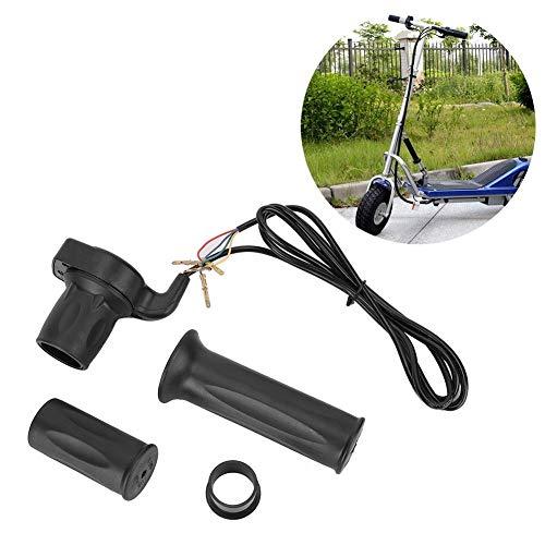 KSTE Acelerador Scooter, La Mitad de 24V-Torsión Acelerador de 4 Hilos empuñadura Juego de Cables for Scooter eléctrico con el indicador