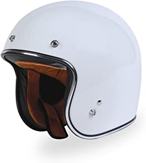 TORC (T50 Route 66) 3/4 Helmet (White, X-Small)