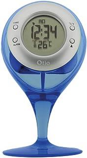 Thermomètre à eau H2O sur pied bleu - Otio