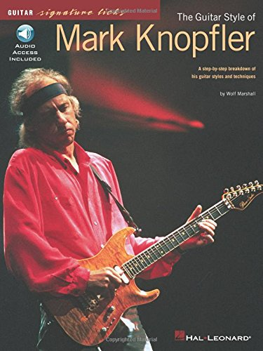 Partition : Knopfler Mark Signature Licks (en anglais + CD included).