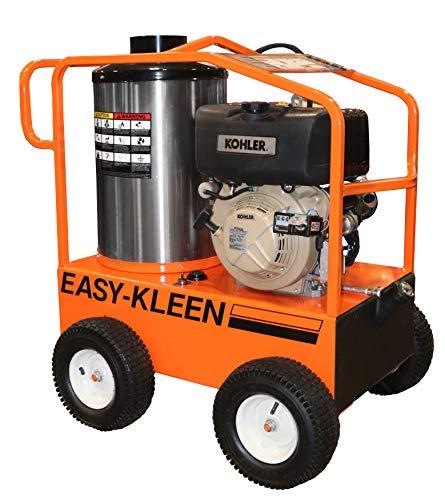 diesel powered pressure washers Easy-Kleen Professional 3200 PSI (Diesel - Hot Water) Pressure Washer w/ Kohler Engine & Electric Start (12V Burner)