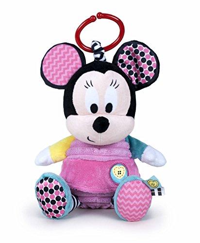 Famosa- Peluche Colgante Disney Baby Minnie, 25 cm (760016185)