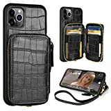 iPhone 11 Pro Wallet Case,ZVE iPhone 11 Pro Case with Credit Card Holder,iPhone...