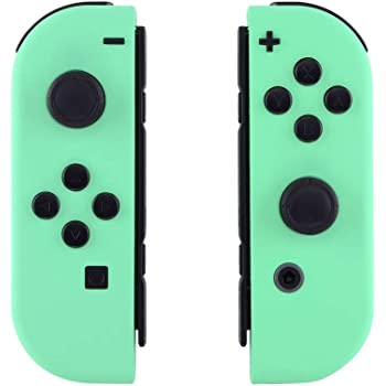 Amazon Com Extremerate Soft Touch Grip Mint Green Joycon Handheld