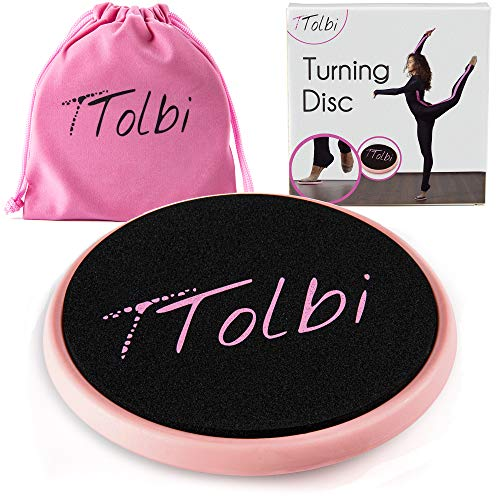 TTolbi Spin Board : Turn Boards for Dancers and Figure Skating Spinner   Turning Board   Turn Board to Improve Balance and Pirouette   Ballet Equipment   Spin Disc E-Guide