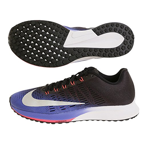Nike Donne Air Zoom Elite 9 Running 863770 Sneakers Turnschuhe (UK 3.5 US 6 EU 36.5, Persian Violet Metallic Silver 500)
