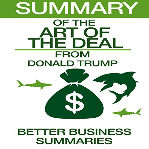 Summary of The Art of the Deal from Donald Trump audiobook cover art