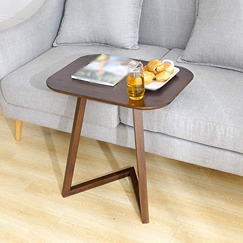 Verstelbaar nachtcomputertafel, luxe salontafel houten tijdschriftenontbijt kan worden gedraaid (afmetingen: 40 x 60 x 65). 40 * 60 * 65
