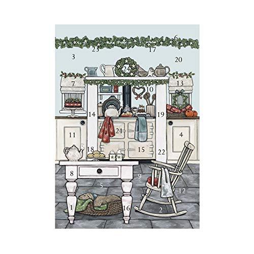 Wrendale Designs Sally Swannell Adventskalender Weihnachtsküche