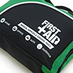 General Medi 160 Piece Compact First Aid Kit Bag - Including Cold (Ice) Pack, Emergency Blanket, Moleskin Pad,Perfect… 9