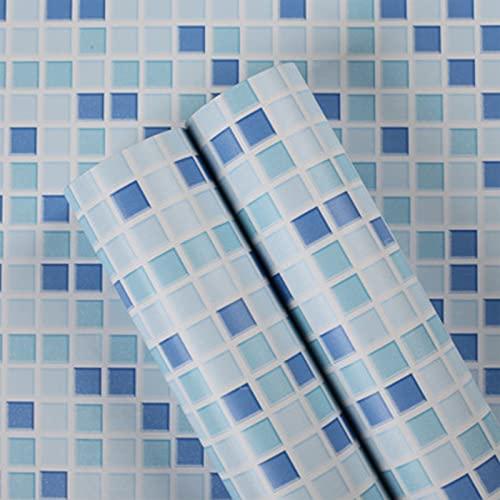 GLWXAHI Fondo de Pantalla Impermeable Pegatinas de Azulejos de plástico Vinilo Autoadhesivo Papeles de Pared Cocina Baño Pegatinas de Pared Decoración del hogar 2 1mx60cm