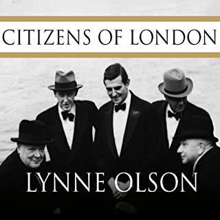 Citizens of London audiobook cover art