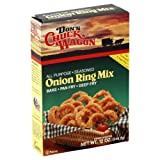 Dons Chuck Wagon Onion Ring Batter Mix 12 oz Pack of 12