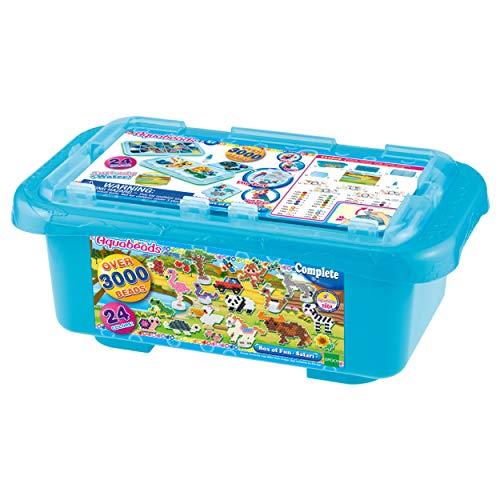 Aquabeads 32808 Mega Bastelbox Safari - Bastelset