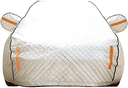 Car Cover for Mazda/CX-3 CX-7 CX-9, Aluminum Film Heat Shielding, Sun Waterproof Breathable Scratch Proof Rain Dust Uv, All Weather Protection