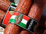 Not Your Ordinary Pepperoni Authentic Italian Taste (4 Sticks) Natural Casing