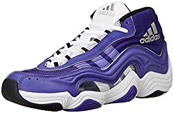 e718ce19d70 Adidas holds a steady presence in the wide feet basketball shoe space and  their Crazy 2 model creates a fun look at functionality. This eye-popping  design ...