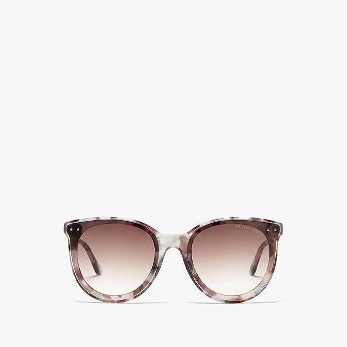 Bottega Veneta  BV0165S (Havana) Fashion Sunglasses