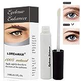 Augenbrauen-Serum, Augenbrauen-Serum, Augenbrauenwachstum, Augenbrauen, dicker, gesünder und formbar, schneller Nachwachs längerer Augenbrauen
