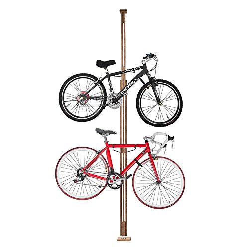 2021 RAD Cycle Woody Bike Stand Bicycle Rack Storage or Display Holds Two Bicycles