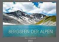 Bergseen der Alpen (Wandkalender 2022 DIN A2 quer): Bergseen der Alpen (Monatskalender, 14 Seiten )
