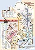 Carte des vins et leurs cépages 'les stations Oenanthiques ®' IGP - A1 (60 x 80 cm)