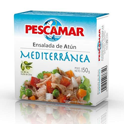 Pescamar Ensalada De Atun Mediterranea En Lata 150 G 150 g