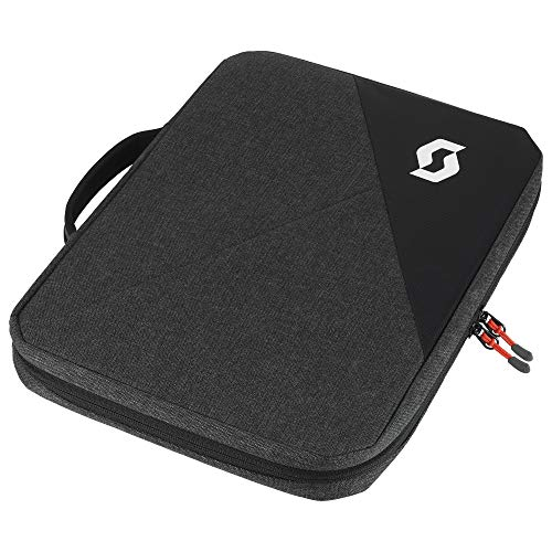 Scott Laptop Case 15'' Laptoptas grijs/zwart/rood