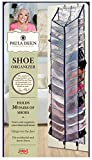 Jokari Paula Deen Shoe Organizer - Over The Door 30 Pocket Shoes Storage with Large Compartments for Side by Side Storage - Fits Any Standard Door & Easy to Attach Inside Your Closet