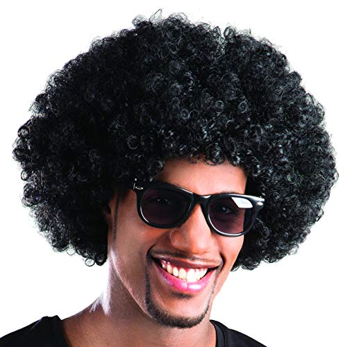 Boland 86020 - pruik Afro Krultang, zwart