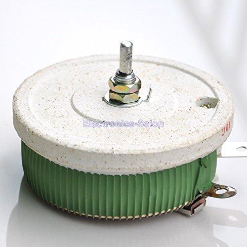 Electronics-Salon 200W 5 OHM High Power Wirewound Potentiometer, Rheostat, Variable Resistor.