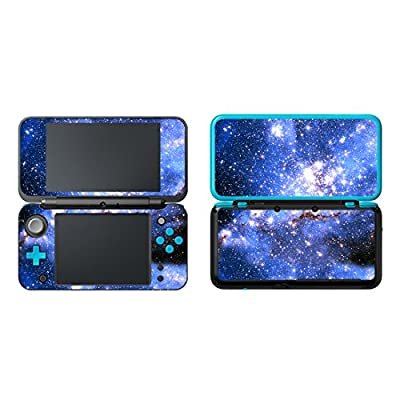 SKINOWN Vinyl Cover Decals Skin Sticker for Nintendo New 2DS XL - Galaxy Sky