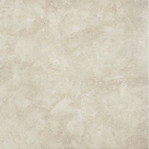 Achim Imports FTVMA45045 Achim Home Imports Tivoli Carrera Marble 12 inch x 12 inch Self Adhesive Vinyl Floor Tile #450, Pack of 45.
