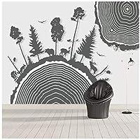 Wkxzz 壁の背景装飾画 カスタム動物背景壁紙壁画-350X250Cm