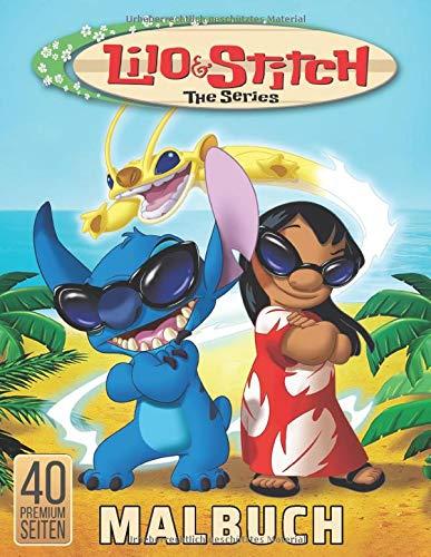 Lilo & Stitch The Series Malbuch: Erstaunliches Malbuch fur Kinder - großes Geschenk fur Madchen