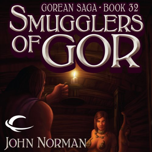 Smugglers of Gor audiobook cover art