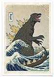 JUNIQE® Dinosaurier & Fabelwesen Poster 40x60cm - Design
