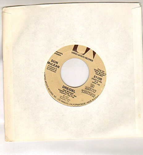 DON MCLEAN - DREIDEL b/w BRONCO BILLS LAMET - 7 inch vinyl / 45