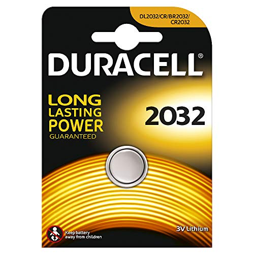 Duracell 2032 Single-use Batterie CR2032 Lithium 3 V (Single-use battery, CR2032, Lithium, bouton/pièce de monnaie, 3 V, 1 pièce)