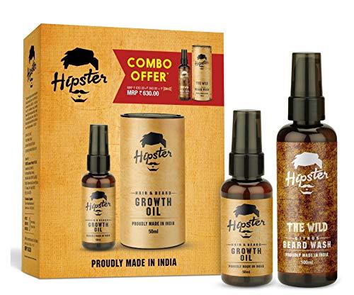 Hipster Hair and Beard Growth Oil