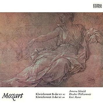 Mozart: Klavierkonzerte No. 22 & 23