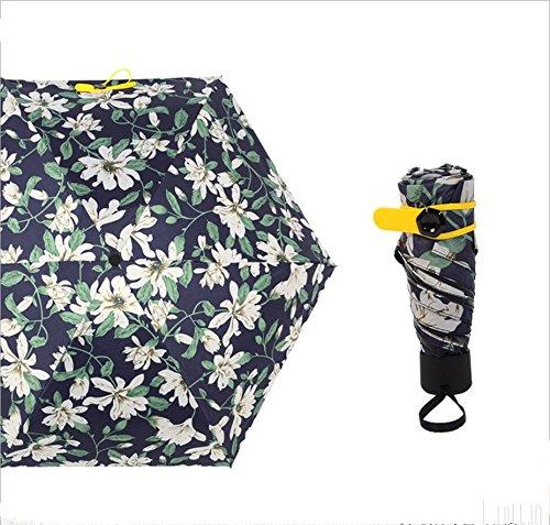 Switty Mini Compact Sonne Regen Reise Regenschirm–leicht tragbar outdoor