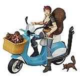 Figura con vehículo Squirrel Girl 15 cm. Hasbro. Marvel Legend Series