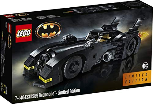 Lego Exclusive Set #40433 1989 Batmobile 2019 Limited Edition