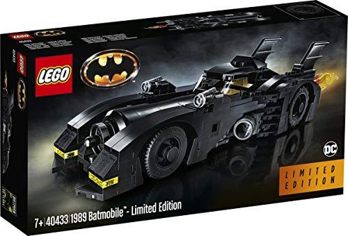 Lego Exclusive Set #40433 1989 Batmobile 2019 Limited Edition