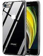 Migimi Funda iPhone SE 2020, iPhone 7/8 Carcasa Silicona Gel TPU Transparente Ultra-Delgado Anti-Choque Bumper Case Caso para Teléfono Apple iPhone SE 2020/7/8 - Claro